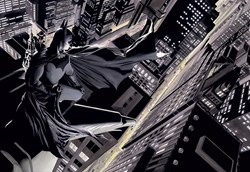 Batman: Knight Over Gotham by DC - Limited Edition on Paper sized 26x18 inches. Available from Whitewall Galleries